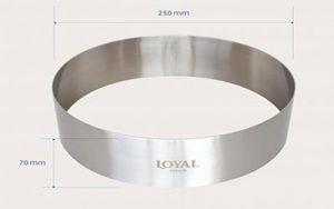 Food Stacker Cake Ring - 250mm