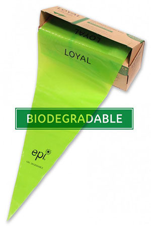 Biodegradable Piping Bags Green 46cm