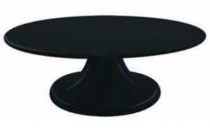 Cake Stand Turntable Black - LP22732B
