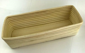 Rattan Proofing Basket Long 22cm