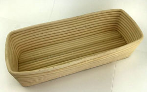 Rattan Proofing Basket Long 36cm
