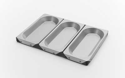 Vienna Loaf Pan - Set of 3 - V450/16S-18S