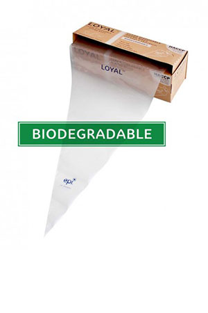 Biodegradable Disposable Bags Clear 30cm