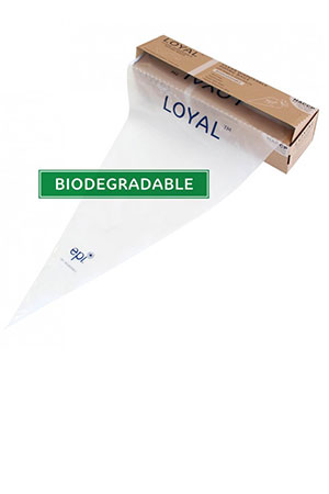 Biodegradable Disposable Bags Clear 55cm