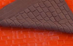 Silicone Mat - Irregular Brick Design