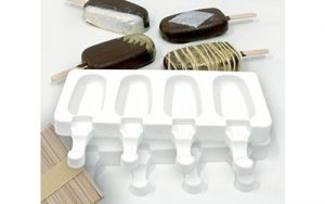 Popsicle Moulds 2 Pack + 50 Sticks