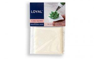 Floral Squares Parchment Paper - Pre-Cut 65mm/2.5 Inch