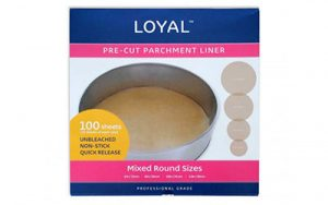 Pre-Cut Parchment Liner - Round - Mixed Sizes