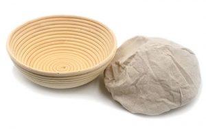 Banneton Proofing Basket & Liner - Round 20cm