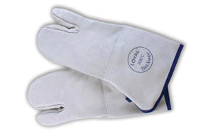 Loyal/Brickman Italian Leather 3 Finger Gloves