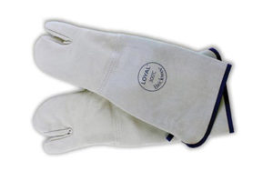 Loyal Brickman Leather 3 Finger Gloves